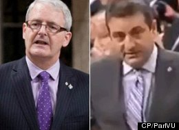 Tory MP Paul Calandra apologized to Liberal MP Marc Garneau on Monday for an insult he says crossed the line. (CP)