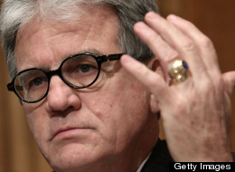 Sen. Tom Coburn (R-Okla.) wants to permit firearms on land controlled by the U.S. Army Corps of Engineers. (Photo by Alex Wong/Getty Images)
