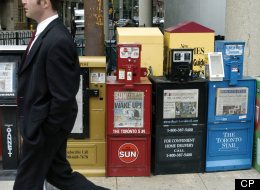 If today's earnings report are anything to go by, Canada's newspaper business is in serious trouble. (Photo by Louie Palu/The Globe and Mail)