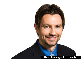 Jason Richwine resigned Friday from the Heritage Foundation (Photo from <a href=