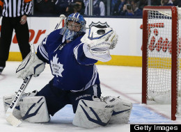 The Toronto Maple Leafs got plenty of heroics from goalie James Reimer in their Game 6 win over the Bruins. (Getty Images)