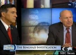 Rep. Darrell Issa (R-Calif.) and former Amb. Thomas Pickering appeared on NBC's