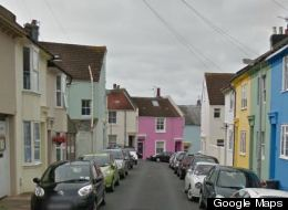A man in Brighton, UK, reported seeing what he thought was a dimensional vortex in this neighborhood. City officials are skeptical.
