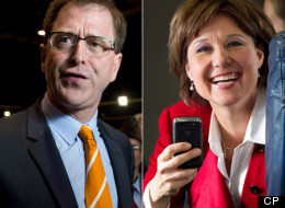 British Columbians head to the polls today to vote for the province's next government. (CP)