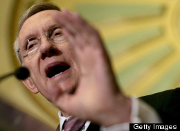 Senate Majority Leader Harry Reid criticized Republicans for their response to the IRS scandal. (Photo by Win McNamee/Getty Images)