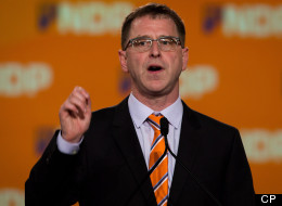 Adrian Dix's NDP lost the election because he refused to go negative, pundits say. (Canadian Press)