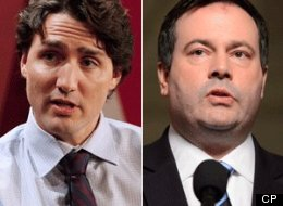A senior Harper cabinet minister is throwing jabs at Justin Trudeau in the wake of a brutal attack in London. (CP)