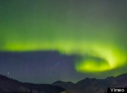 Photographer Richard Gottardo shot these stunning photos of the Northern Lights earlier in May.