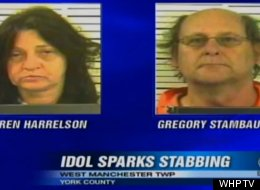 Karen Elaine Harrelson, 48, and Gregory L. Stambaugh, 57, allegedly stabbed each other over an argument about the