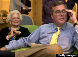 Former Florida Gov. Jeb Bush says he's undecided about running for president, but he doesn't appear to agree with his mother that there've been enough Bushes in the White House. (Getty Images)