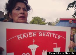 Fast-food workers in Seattle went on strike this week, joining a growing movement to improve wages in the service industries.