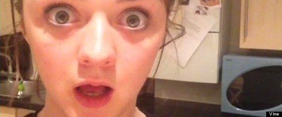Maisie Williams Dance Gif Maisie williams' reaction to