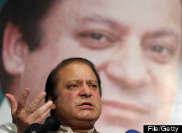 Pakistan's parliament elected Nawaz Sharif as prime minister on Wednesday. AP