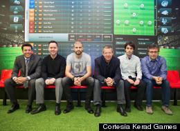 Gerar Piqué con sus compañeros de Kerad Games