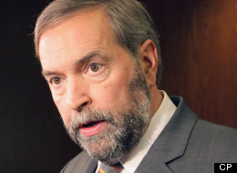 NDP Leader Thomas Mulcair has apologized after failing to stop for an RCMP screening on Parliament Hill Thursday morning and then reportedly asking an officer: