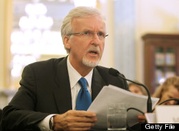 Explorer and filmmaker James Cameron testifies before a Senate committee hearing on June 11, 2013 in Washington, DC. (Photo by Paul Morigi/Getty Images)