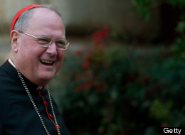 U.S. cardinal Timothy Michael Dolan. (JOHANNES EISELE/AFP/Getty Images)