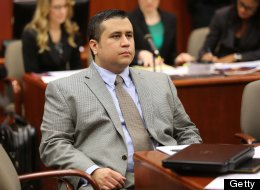 George Zimmerman waits for court to start on the eighth day of his trial, in Sanford, Florida, Wednesday, June 19, 2013. Zimmerman is accused in the fatal shooting of Trayvon Martin. (Joe Burbank/Orlando Sentinel/MCT via Getty Images)