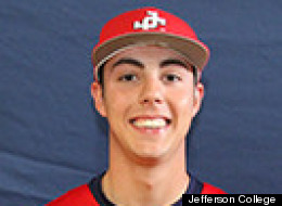 Brian Read pitches for Jefferson College in Mississippi, but is playing summer ball in New Hampshire with the Seacoast Mavericks.