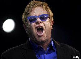Sir Elton John el 3 de julio de 2013