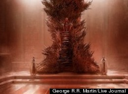 The real Iron Throne, according to George R.R. Martin.