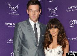 Actor Cory Monteith and actress Lea Michele attend the 12th annual Chrysalis Butterfly Ball on June 8, 2013 in Los Angeles, California.  (Photo by Jason LaVeris/FilmMagic)