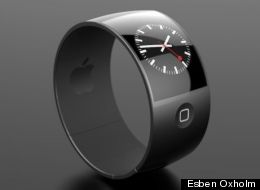 Concept of an iWatch by Esben Oxholm