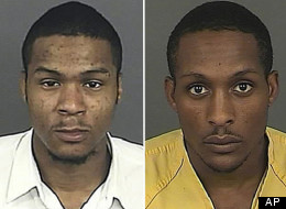 Joseph Hill, pictured left, and Lynell Hill, pictured right in booking photo.