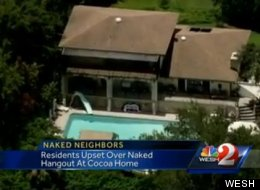 A nude bed and breakfast is drawing fire in a Florida residential area.