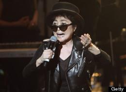 Yoko Ono is teasing