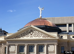 Arizona state capitol building, city of Phoenix, USA