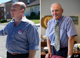 Ontario's by-elections were most heated in the Etobicoke-Lakeshore riding between PC candidate Deputy Mayor Doug Holyday and Liberal candidate Councillor Peter Milczyn. (CP)
