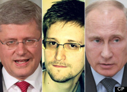 Canada has added its voice to those criticizing Russia for granting asylum to U.S. National Security Agency leaker Edward Snowden. (CP)