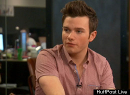 Chris Colfer is OK with