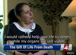 Sherri Muzher, a Detroit woman with multiple sclerosis, wants to end her own life in order to save others. (Image credit: WDIV)