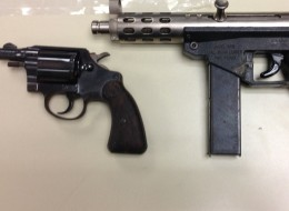 The 199th and 200th firearms confiscated by the Cook County Sheriff's Office from revoked FOID card holders under a pilot program this year.