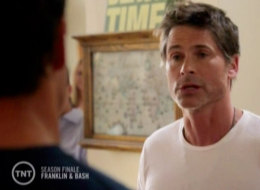 'Franklin & Bash' Finale: Rob Lowe Shows Up To Confrot The Guys After All The Stuff They Took From Him