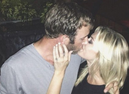 Paulina Gretzky and Dustin Johnson announce their engagement. (Instagram)