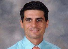 His Royal Highness Dana Carter, the new principal of Calimesa Elementary School