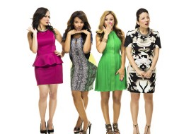 The ladies of 'The Social' (from L-R): Cynthia Loyst, Traci Melchor, Melissa Grelo and Lainey Lui.