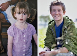 Family photos shows transgender student Wren Kauffman before and after his change. Wren was born a girl but at the age of 9 started identifying as a boy and now lives his life as a male in Edmonton, Alberta on Thursday August 29, 2013. (THE CANADIAN PRESS/Jason Franson)