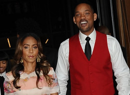 Will Smith and Jada Pinkett Smith are not selling their California mansion and they are not getting divorced. Here, they are seen outside Trump SoHo Hotel on May 29, 2013, in New York City. (Raymond Hall/FilmMagic)