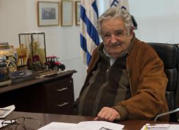 El Presidente de Uruguay: José Mújica. AFP PHOTO / Daniel CASELLI        (Photo credit should read DANIEL CASELLI/AFP/Getty Images)pres