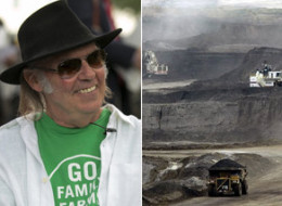 His guitarist in Crazy Horse might be dealing with a fractured hand, but Neil Young threw some verbal punches this week when he compared the oilsands in Fort McMurray, Alta. to Hiroshima, the site of the first atomic bomb drop in August 1945. (Getty/AP)