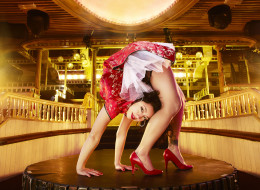 Contortionist Lelani Franco set three new records for the 2014 edition of Guinness World Records