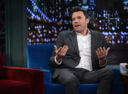 NEW YORK, NY - SEPTEMBER 16:  Ben Affleck visits 'Late Night with Jimmy Fallon' at Rockefeller Center on September 16, 2013 in New York City.  (Photo by Theo Wargo/Getty Images)