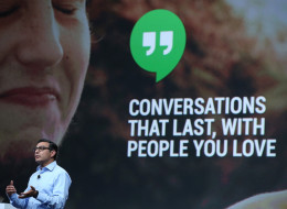 Vic Gundotra, Google senior vice president of engineering, announces 'hangouts' for Google (2013)