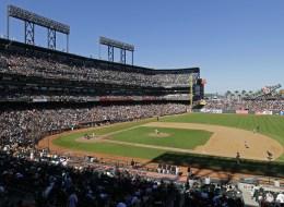 A view of San Francisco's AT&T Park. (AP Photo/Eric Risberg)