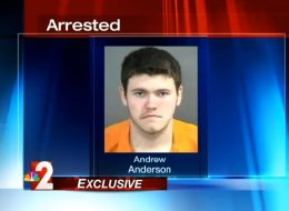 Andrew Anderson, 19, is charged with a felony after he gave discounts to customers at a Goodwill store in Florida over a period of 12 days. (photo: NBC 2)
