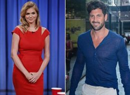 Kate Upton and Maksim Chmerkovskiy engaged in some PDA recently, further igniting dating rumors.